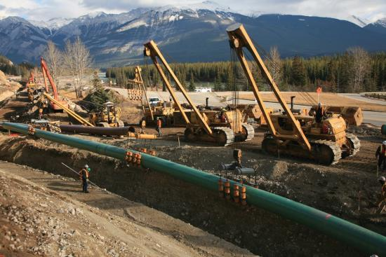 Canada's pipeline system — the past and present
