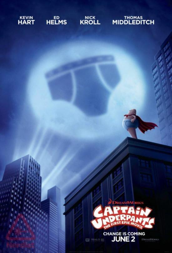 Film Review: Captain Underpants: The First Epic Movie