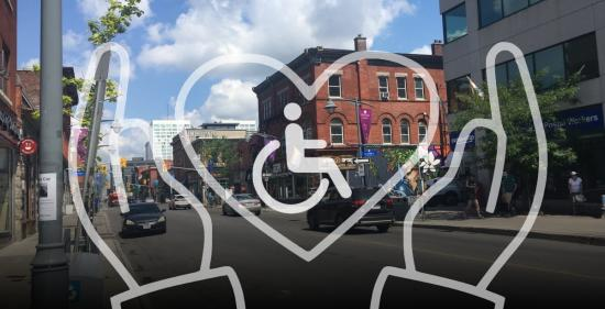 To all business owners: don't forget about PWD when you reopen