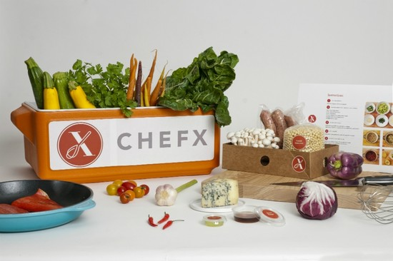 Dinner at Your Door Courtesy of Chefx