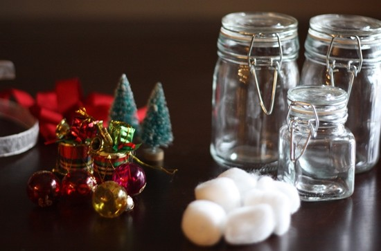 DIY: Christmas in a Jar