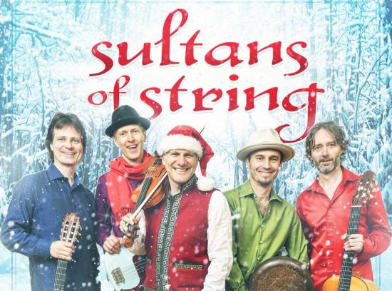 Don't miss Sultans of String's Christmas Caravan!