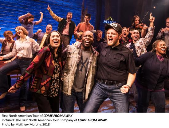 Broadway hit musical, Come From Away, arrives at NAC