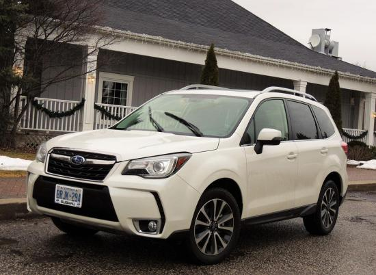 Compact Forester Big on Practicality and Performance