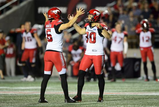 Controversial coaching decision costs Redblacks late against Stampeders