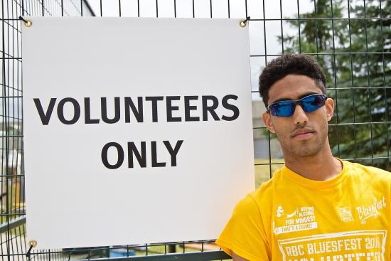 Bluesfest Spotlight: Clothing the Volunteers