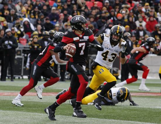 Despite Historic Playoff Performance, Trevor Harris' Greatest Test Lies Ahead in Grey Cup Matchup With Stampeders