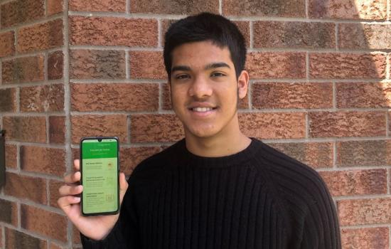 Check out YUNAL, the Canadian-made COVID-19 prevention app