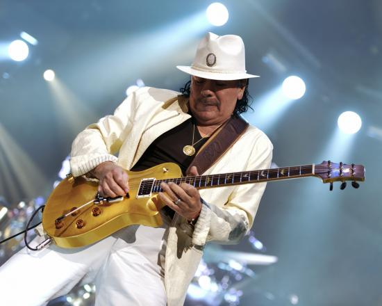 Dialling Into the Divine Frequency of Santana