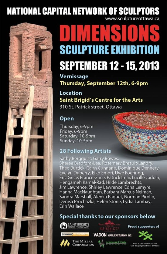 Dimensions- A Premier Sculpture Show In Ottawa