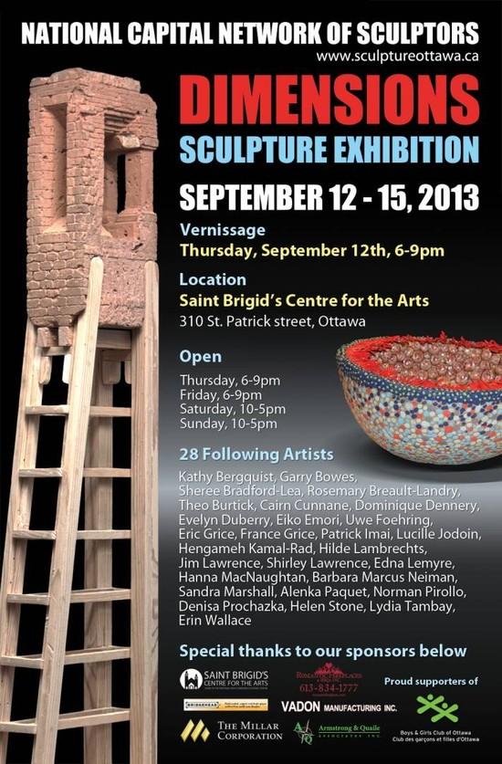 Dimensions- A Premier Sculpture Show In Ottawa