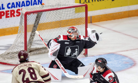 DiPietro's Historic Weekend Leads Ottawa 67's to Consecutive Wins