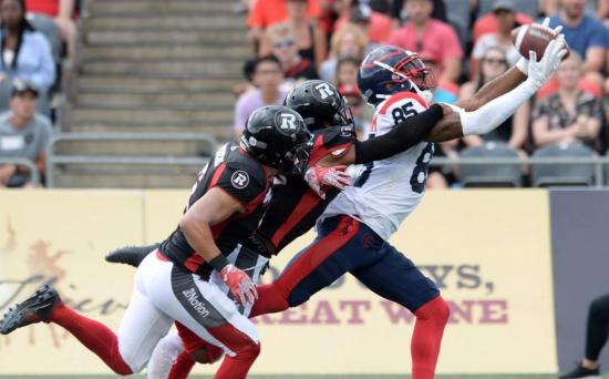 Disastrous second half costs Redblacks against Montreal Alouettes