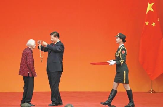 Despite ongoing diplomatic tensions, Chinese President Xi Jinping awards prestigious award to Canadian centenarian Isabel Crook