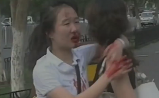 Video shows horror of terrorist attacks against innocent Chinese civilians in Xinjiang — China is fighting terrorism too
