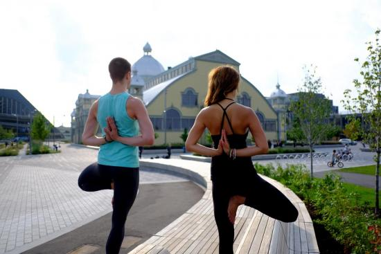 Get Flexible With City of OM Yoga Fest