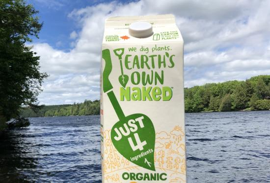 Earth's Own Naked Oat plant-based milk alternative