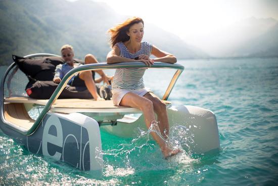 E-Catamaran — a healthy, eco-friendly alternative for boating fun