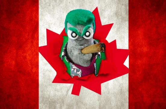 Ed Socks it to Canada Day!