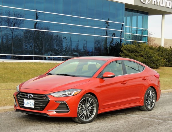 Elantra Sport Adds 'Fun Factor' to Practical Family Ride