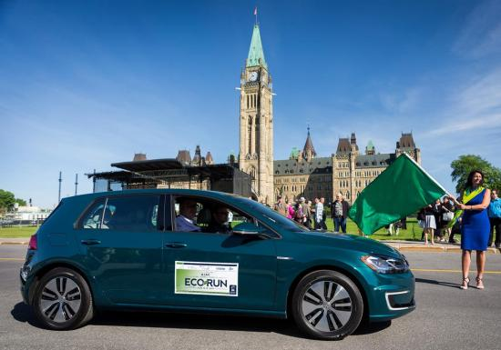 Electric vehicles impress at this year's EcoRun