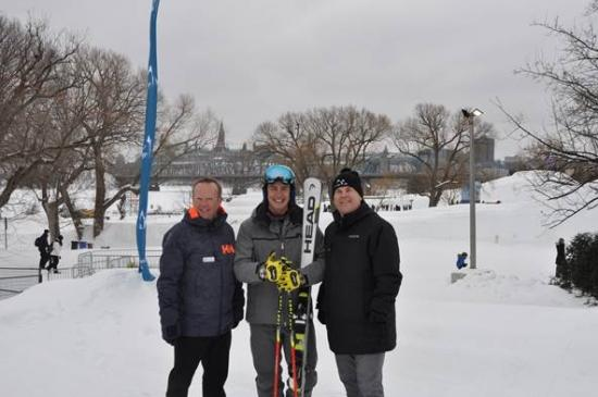 Erik Guay attends Gatineau's Winterlude to introduce children to alpine skiing and snowboarding