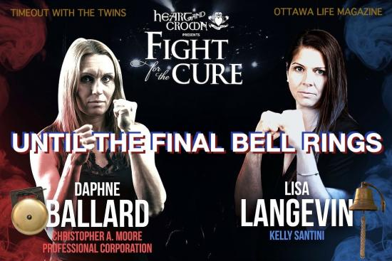 Until the Final Bell Rings shares the Fight For The Cure journey of the white-collar charity