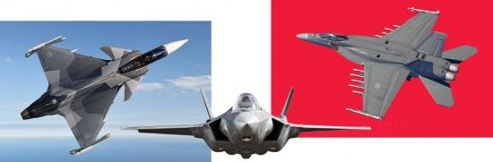 Saab AB, Lockheed Martin, Boeing: May the best plane win