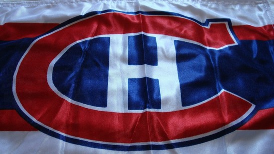 Montreal flying the flag for Canada in the NHL
