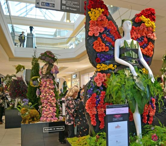 Florals Are In Fashion This Week at Bayshore Shopping Centre