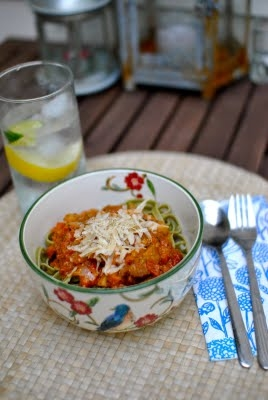 Summer Fresh Pesto Pasta