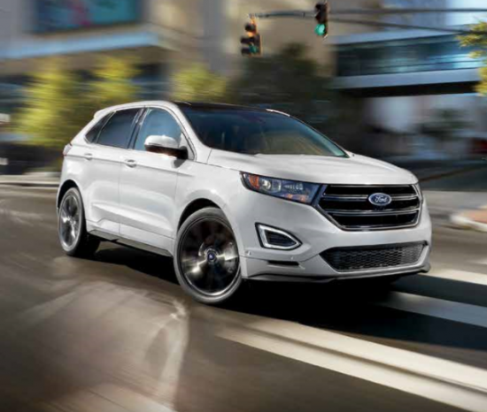 Ford's 2017 Models Take a Victory Lap