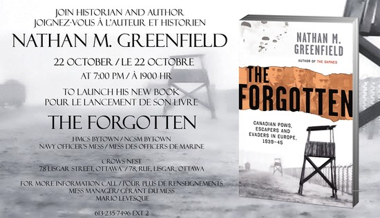 Nathan Greenfield Remembers The Forgotten