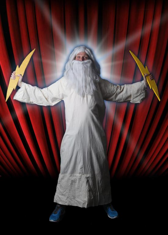Fringe Review: God! The One Man Show
