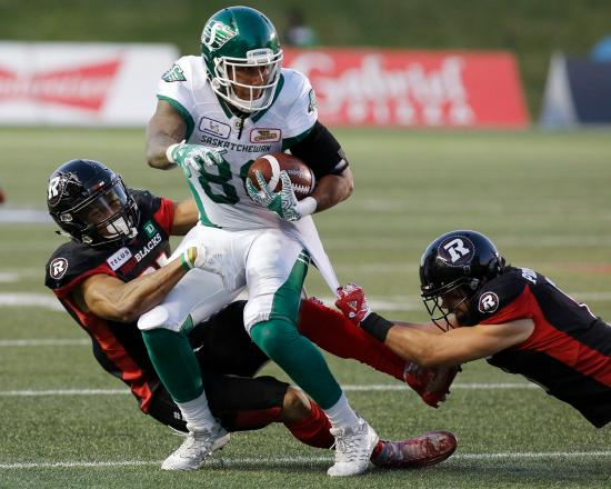 Redblacks Dominate Roughriders in Home Opener