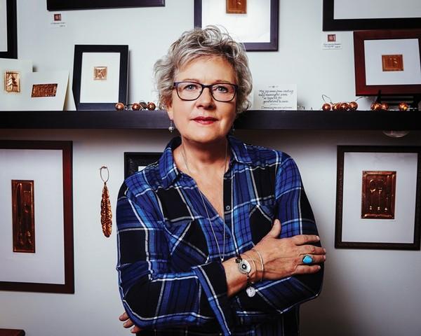 Barbara Barkley: Copper, Feathers & National Pride