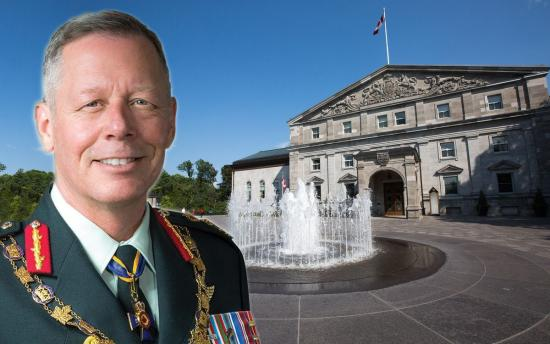 General Jonathan Vance would quickly restore dignity to Governor General's office