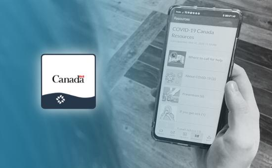 Get the Government of Canada Covid-19 app now!