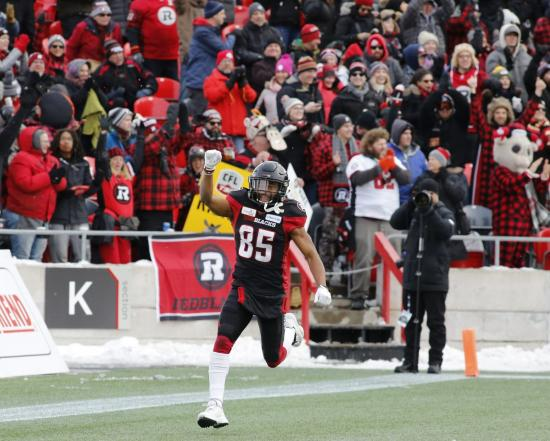 Grey Cup Bound: Redblacks Blowout Ti-Cats in Eastern Final to Reach Grey Cup