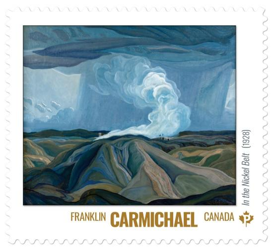 OAG's Franklin Carmichael in Group of Seven stamp series