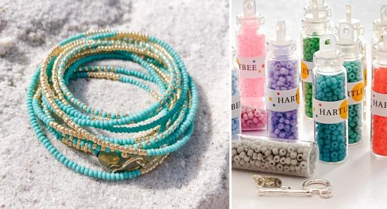 Travel the world from home with HARTLEYBEE destination bracelets