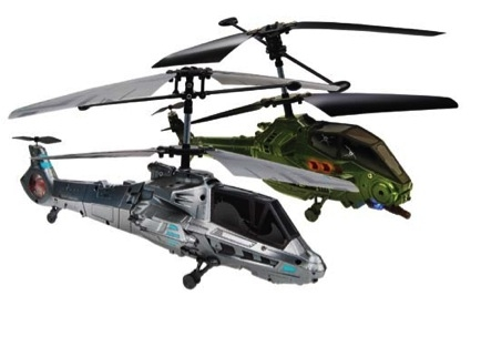 Battle-Ready Sky Duel™ Helicopters