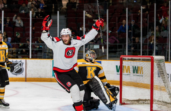 High Scoring Ottawa 67's Continue to Roll With OHL-Best 17th Win