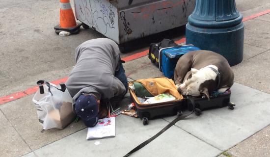 Madonna: Tragic epitome of homelessness