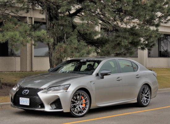 'Hot rod' GS F sedan still does the family thing