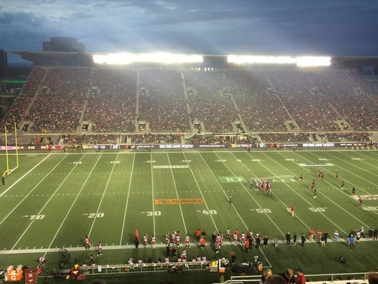 Redblacks Undefeated