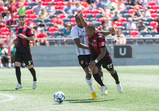 Ottawa Fury lose 1-0 to second place Pittsburgh Riverhounds