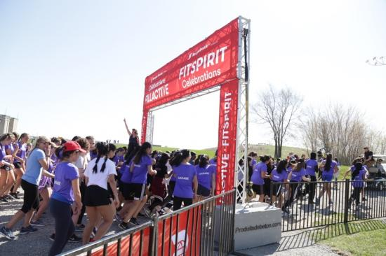 FitSpirit and Scotiabank empower Canadian girls to stick with sports