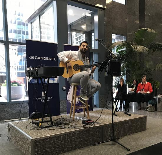 The Canada Music Academy and Canderel host series of pop-up concerts