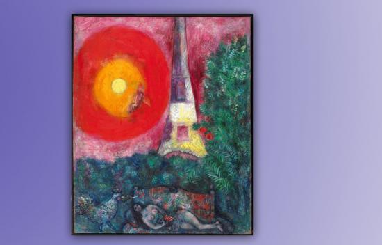 Chagall's La Tour Eiffel Inspires Hope for Humanity